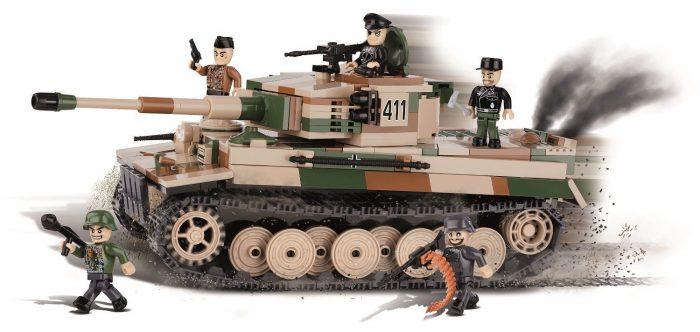#2487 ドイツ軍 ティーガー VI E型 重戦車 PzKpfw VI E
