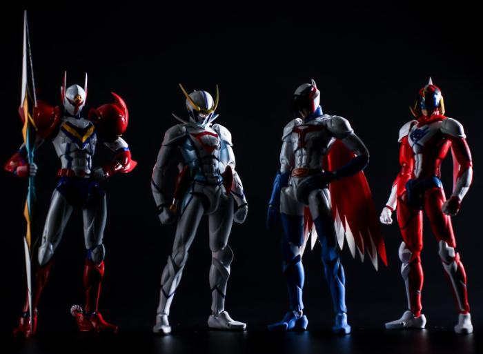 『Infini-T Force』に登場のヒーロー4人