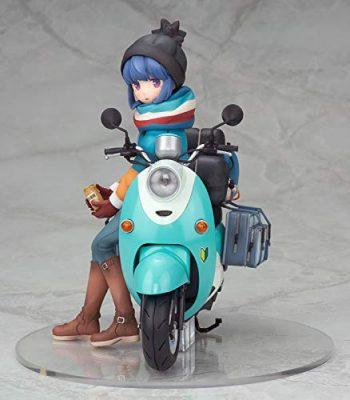 『ゆるキャン△ 志摩リン with スクーター 1/10スケール』