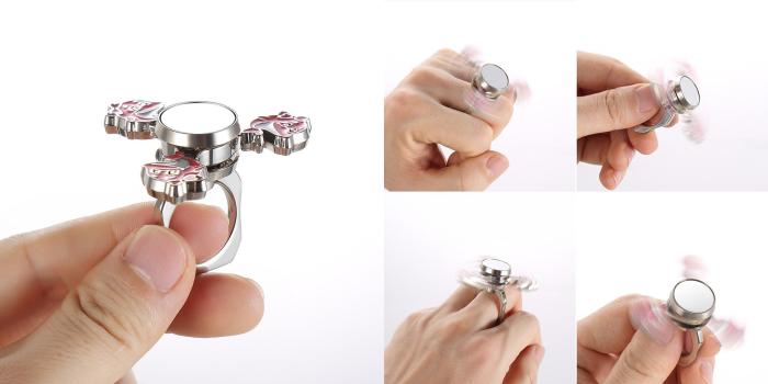 指輪型ハンドスピナー