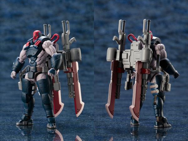 ヘキサギア 1/24 ガバナー パラポーン・エクスパンダー 武器はバックパックに固定可能