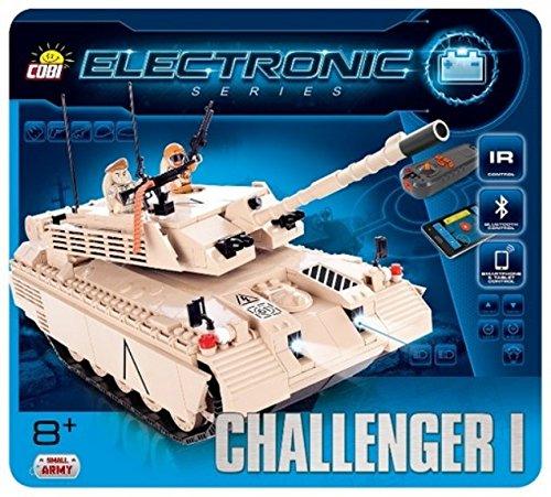 Cobi Small Army ミリタリーブロック #21905 英国軍 チャレンジャーI (リモコン付) Challenger I