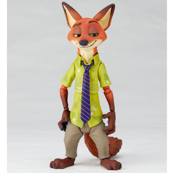 figure complex ムービー・リボ Nick Wilde ニック・ワイルド すまし顔