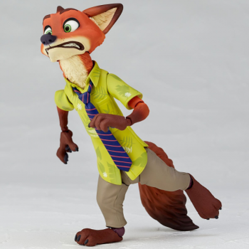 figure complex ムービー・リボ Nick Wilde ニック・ワイルド 逃げるニック