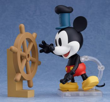 ねんどろいど ミッキーマウス 1928 Ver.(カラー/シロクロ)
