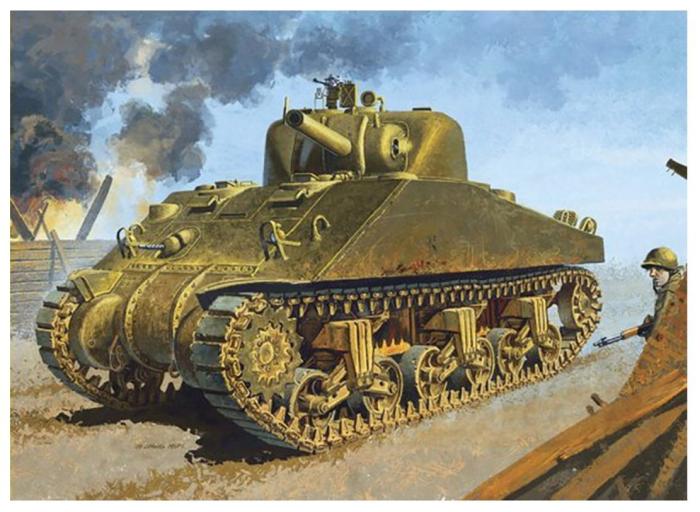 1/35 WW.II アメリカ軍 M4シャーマン DV