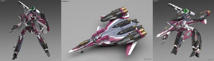 マクロスΔ 1/72 VF-31Cスーパージークフリード(ミラージュ・ファリーナ・ジーナス機)
