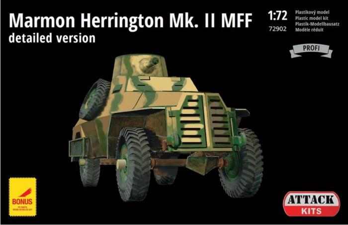 1/72 マーモン・ヘリントン装甲車Mk.II