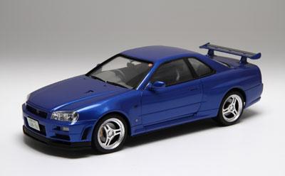 1/24インチアップシリーズ No.260 スカイライン GT-R(R34) カーネームプレート付き