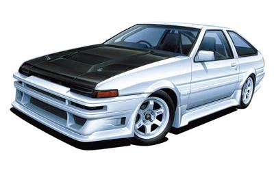 ザ・チューンドカー No.45 1/24 カーブティッククラブ AE86 トレノ '85(トヨタ)
