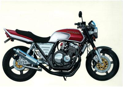 1/12 バイク No.55 ホンダ CB400SF カスタムパーツ付き