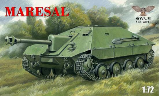 1/72 WW.II ルーマニア陸軍 駆逐戦車 マレシャル