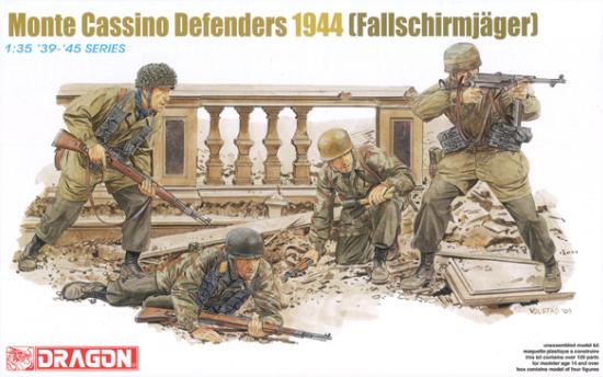 ドイツ軍 降下猟兵 モンテカッシーノ防衛戦 1944