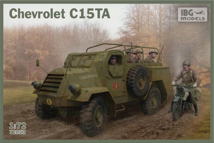 1/72 カナダ軍 シボレーC15TA装甲4輪トラック