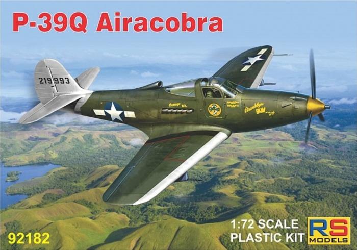 1/72 アメリカ陸軍 P-39Q エアラコブラ