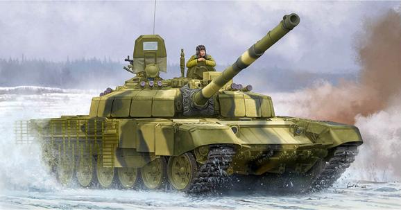 1/35 ロシア連邦軍 T-72B2 主力戦車 ロガートカ