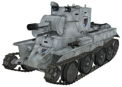 1/72 ガールズ&パンツァー劇場版 BT-42 突撃砲 継続高校