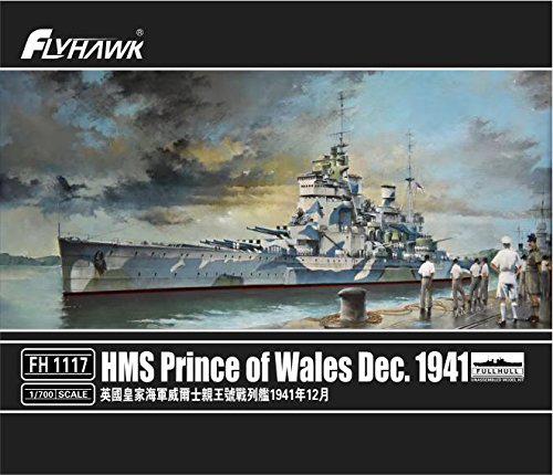 1/700 イギリス海軍 HMS 戦艦 キングジョージ五世級 プリンス・オブ・ウェールズ 1941年12月