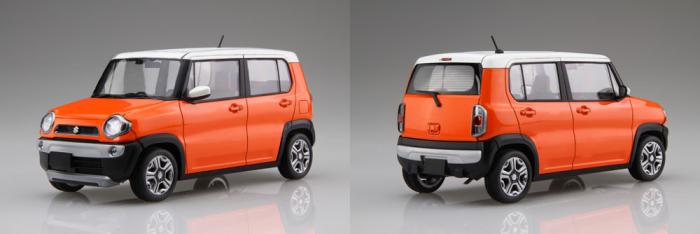 1/24 車NEXTシリーズNo.2 スズキ ハスラー(パッションオレンジ)