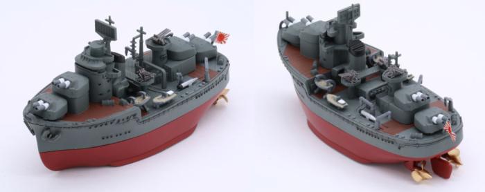 ちび丸艦隊シリーズNo.37 ちび丸艦隊 冬月