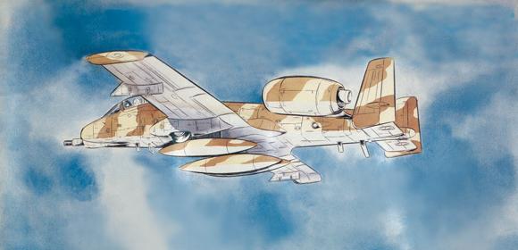 """1/72「エリア88」A-10 サンダーボルト2""""グレッグ・ゲイツ"""""""