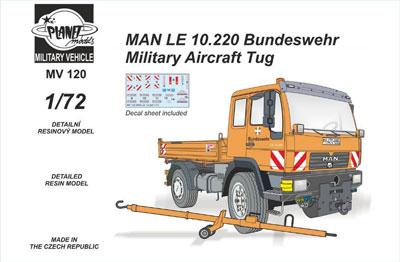 1/72 ドイツ連邦軍 MAN LE 10.220 航空機牽引車