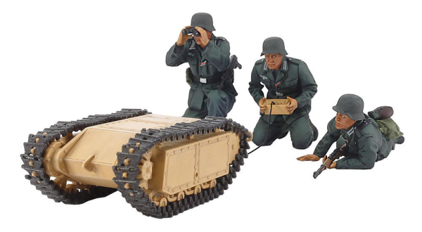 1/35 MM ドイツ突撃工兵チームゴリアテセット