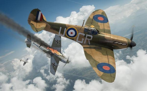 1/72 イギリス空軍 スーパーマリーン スピットファイアMk.1a