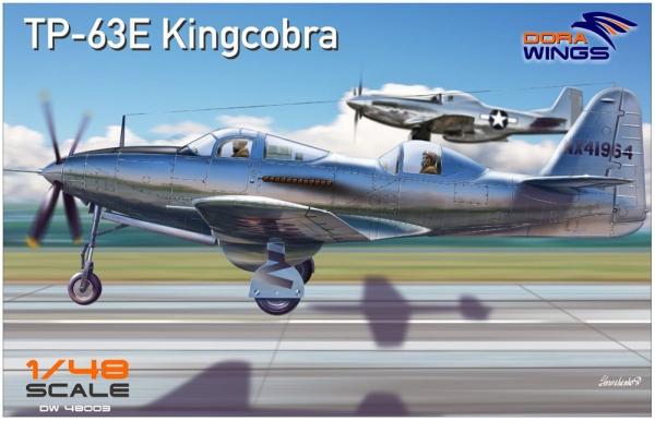 1/48 アメリカ軍 ベル TP-63E キングコブラ 複座練習機型