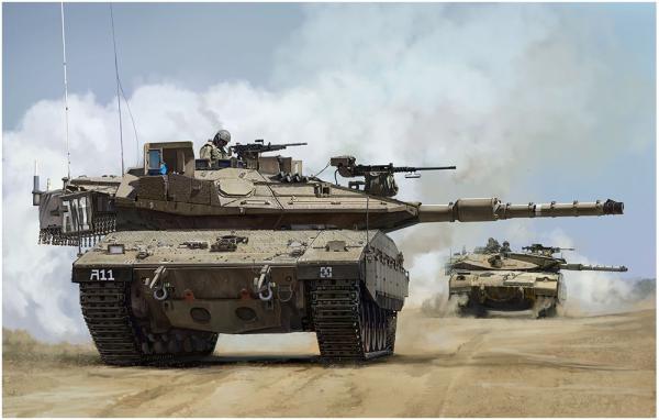 1/35 イスラエル主力戦車 メルカバMk.4M トロフィーAPS