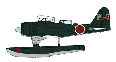 """1/48 三菱 F1M2 零式水上観測機 11型""""902空 モートロック派遣隊"""""""