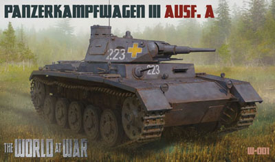 1/72 独・III号戦車A型