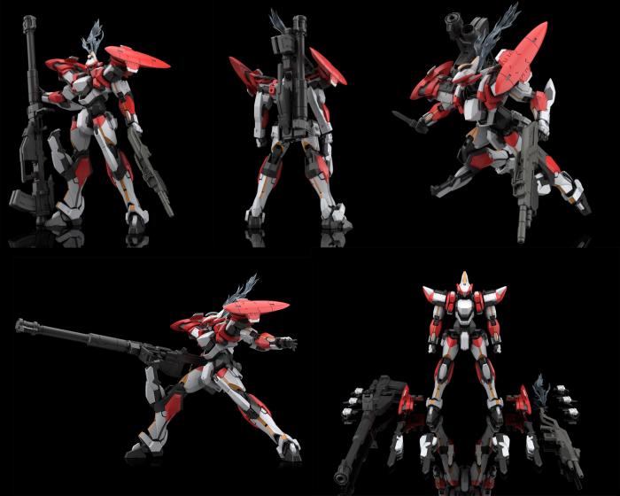 フルメタル・パニック IV ARX-8 レーバテイン 1/48スケール