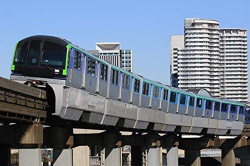 東京モノレール10000形6両編成 ディスプレイモデル(彩色済み)