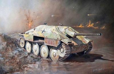 1/56 第二次世界大戦 ドイツ軍 駆逐戦車 38 (t) ヘッツァー