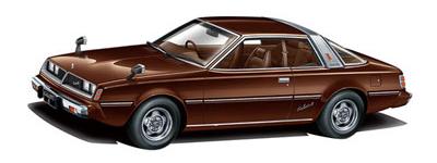 ザ・モデルカー No.78 1/24 ミツビシ A133A ギャランΛ '78