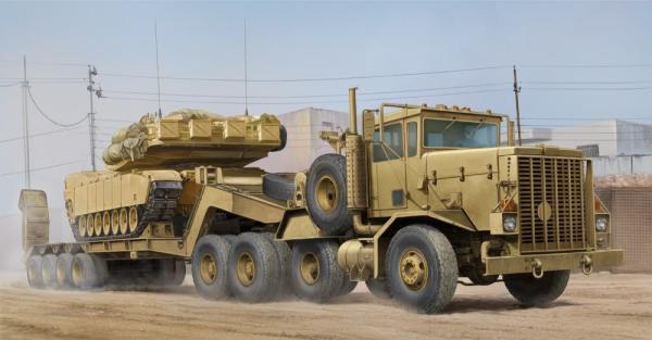 1/35 アメリカM911戦車運搬車w.M747重装備セミトレーラー