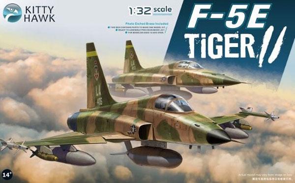 1/32 F-5E タイガーII w/フィギュア2体
