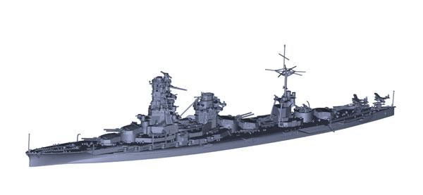 1/700 特シリーズ No.97 EX-1 日本海軍戦艦 日向 (昭和17年/5番砲塔無し)
