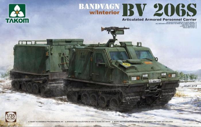 1/35 Bv206S 関節連結型装甲兵員輸送車