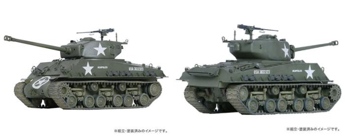 """1/35 アメリカ中戦車M4A3E8シャーマン """"イージーエイト"""""""