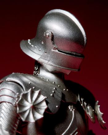 『タケヤ式自在置物 15世紀ゴチック式フィールドアーマー シルバー』