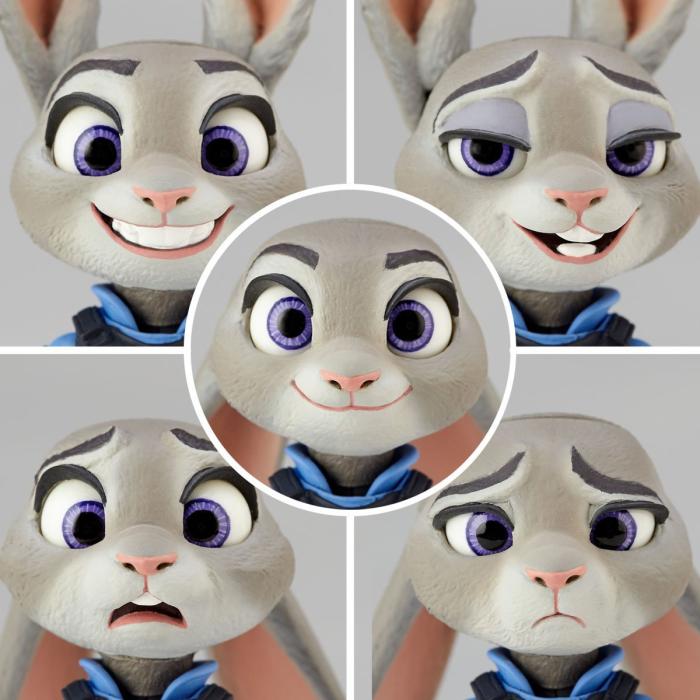 5種類の顔